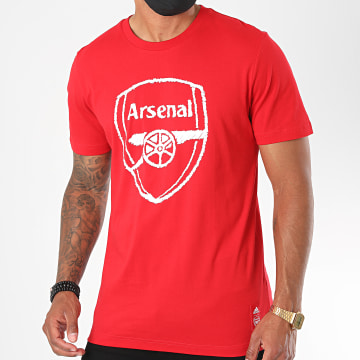 Adidas Performance - Tee Shirt Arsenal FC DNA FQ6913 Rouge
