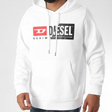 Diesel - Sweat Capuche Girk Cuty A00339-0IAJH Blanc