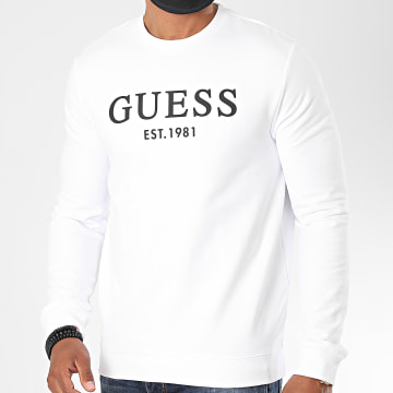 Guess - Sweat Crewneck M0YQ31 Blanc