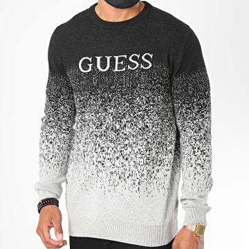 Guess - Sweat Crewneck M0YR48 Noir Gris