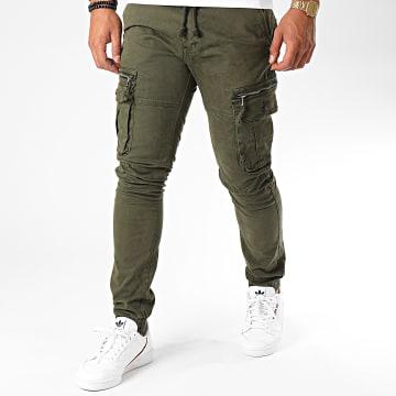 John H - Jogger Pant XQ01 Vert Kaki