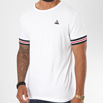 Le Coq Sportif - Tee Shirt Tricolore Ashe N1 1911836 Blanc