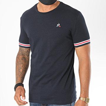 Le Coq Sportif - Tee Shirt Tricolore Ashe N1 1911837 Bleu Marine