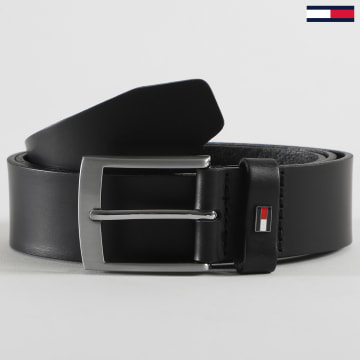 Tommy Hilfiger - Ceinture Adan Leather 6321 Noir