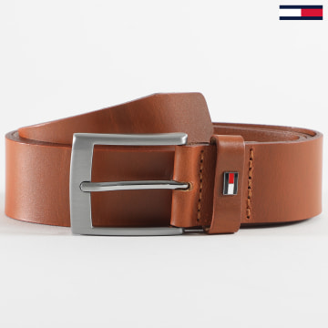 Tommy Hilfiger - Ceinture Adan Leather 6321 Marron Clair