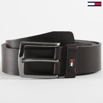 Tommy Hilfiger - Ceinture Denton Leather 6322 Marron