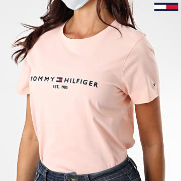 Tommy Hilfiger - Tee Shirt Femme Essential 8681 Rose