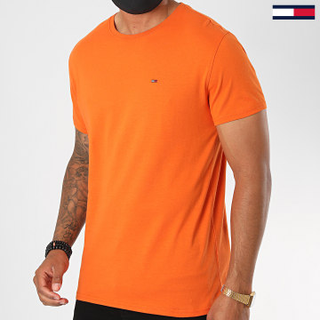 Tommy Jeans - Tee Shirt Essential Solid 4577 Orange