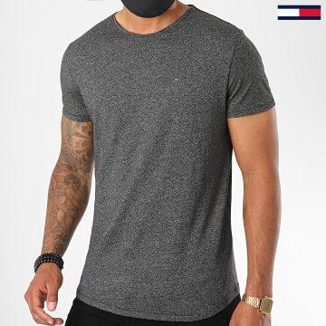 Tommy Jeans - Tee Shirt Essential Jaspe 4792 Noir Chiné