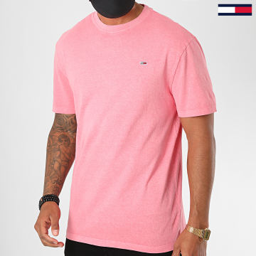 Tommy Jeans - Tee Shirt Sunfaded 8332 Rose