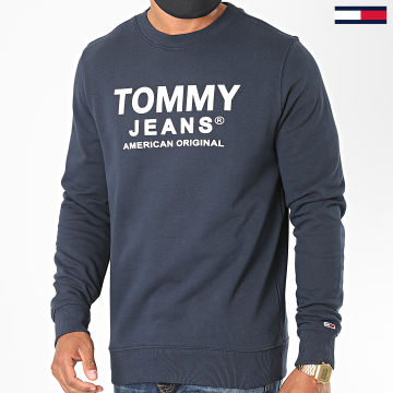 Tommy Jeans - Sweat Crewneck Essential Graphic 8405 Bleu Marine