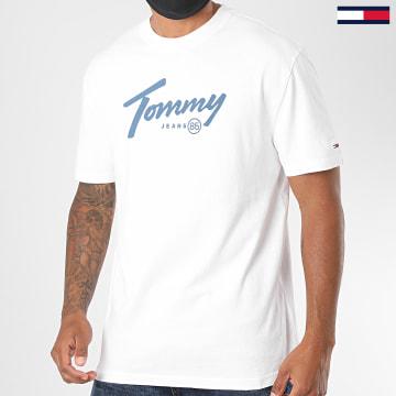 Tommy Jeans - Tee Shirt Handwriting 8471 Blanc