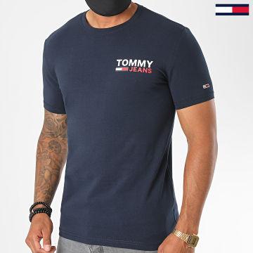 Tommy Hilfiger - Tee Shirt Stretch 8702 Bleu Marine