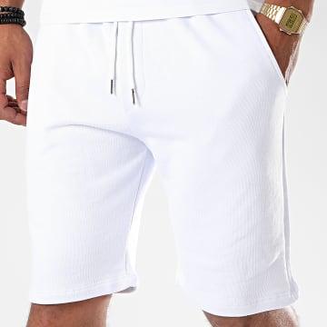 Uniplay - Short Jogging UPP43 Blanc