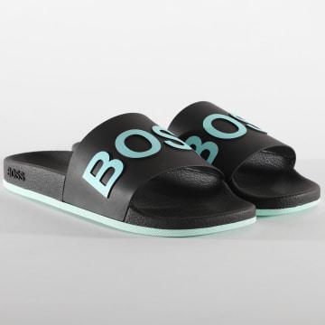 BOSS by Hugo Boss - Claquettes Bay Slip 50432591 Noir