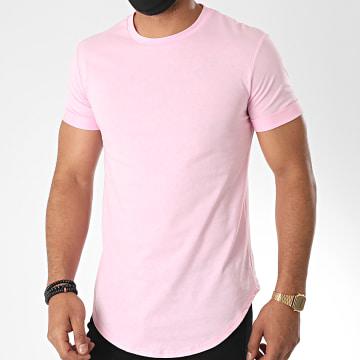 Uniplay - Tee Shirt Oversize UY497 Rose