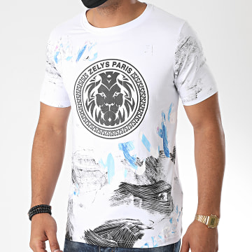 Zelys Paris - Tee Shirt Graph Blanc