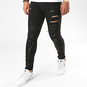 Zelys Paris - Jean Skinny Midnight Noir