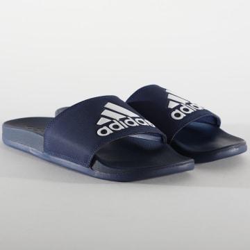 Adidas Originals - Claquettes Adilette Comfort B44870 Bleu Marine