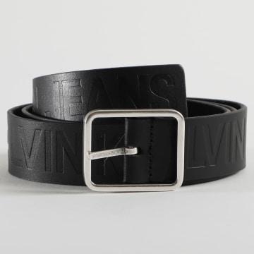 Calvin Klein - Ceinture Réversible Leather Logo 5855 Noir