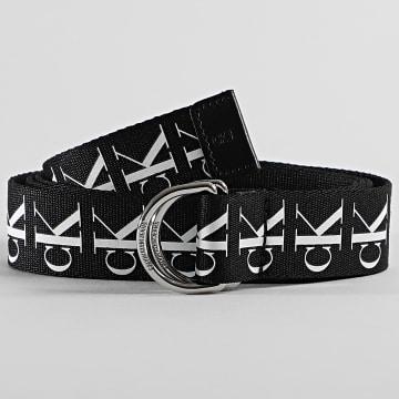 Calvin Klein - Ceinture Tape D-Ring Wove 5863 Noir