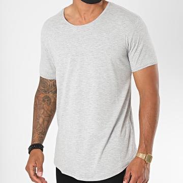 Classic Series - Tee Shirt Oversize 3603 Gris Chiné