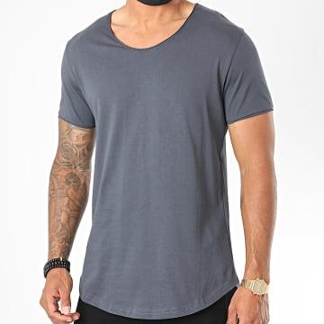 Classic Series - Tee Shirt Oversize 3603 Bleu Marine