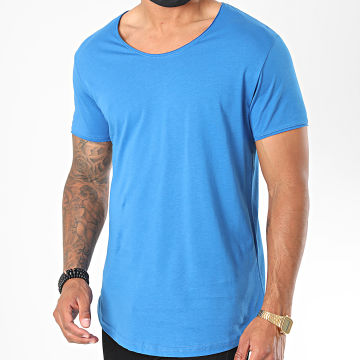 Classic Series - Tee Shirt Oversize 3603 Bleu Azur