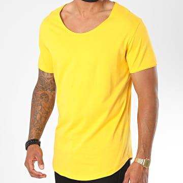 Classic Series - Tee Shirt Oversize 3603 Jaune Moutarde