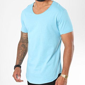 Classic Series - Tee Shirt Oversize 3603 Bleu Ciel