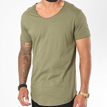 Classic Series - Tee Shirt Oversize 3603 Vert Kaki