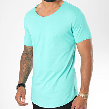 Classic Series - Tee Shirt Oversize 3603 Turquoise