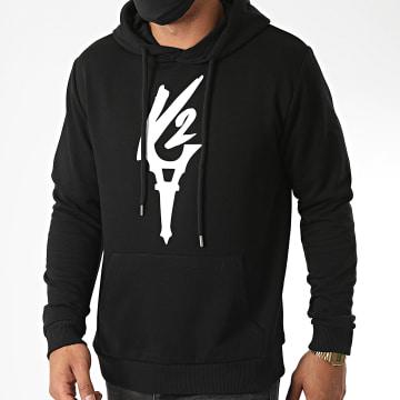 Da Uzi - Sweat Capuche Logo Noir
