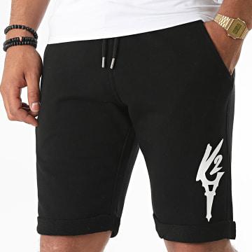 Da Uzi - Short Jogging Logo Noir