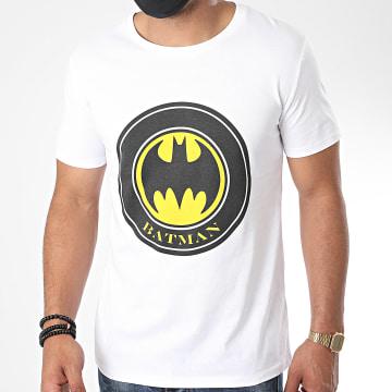 DC Comics - Tee Shirt Crest Blanc