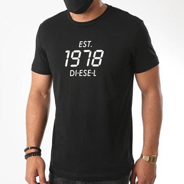 Diesel - Tee Shirt Diegos A00297-0HAYU Noir