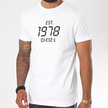 Diesel - Tee Shirt Diegos A00297-0HAYU Blanc