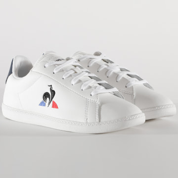 Le Coq Sportif - Baskets Femme Courtset 2010060 Optical White