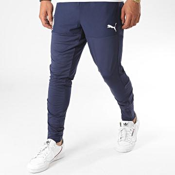 Puma - Pantalon Jogging OM Stadium 758125 Bleu Marine