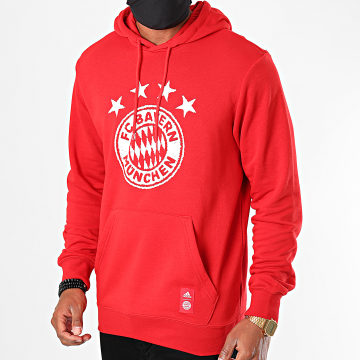 Adidas Performance - Sweat Capuche FC Bayern München FR3965 Rouge