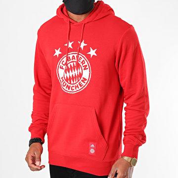 Adidas Performance - Sweat Capuche FC Bayern München FR3965 Rouge