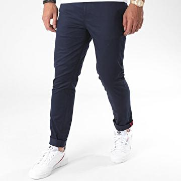 Armita - Pantalon Chino J-S7124 Bleu Marine