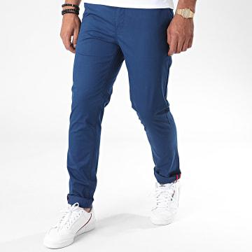 Armita - Pantalon Chino J-S7124 Bleu Indigo