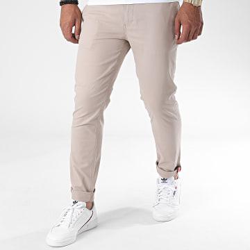 Armita - Pantalon Chino J-S7124 Beige Foncé