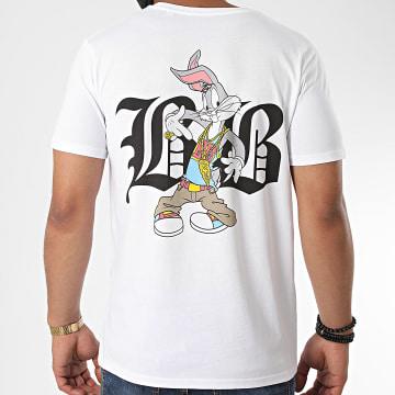 Looney Tunes - Tee Shirt Typo Bugs Back Blanc