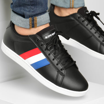 Le Coq Sportif - Baskets CourtClassic Flag 2010199 Black