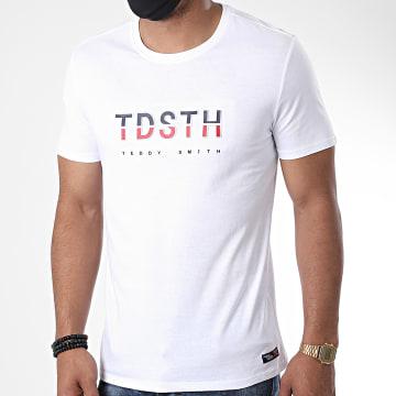 Teddy Smith - Tee Shirt Enva Blanc