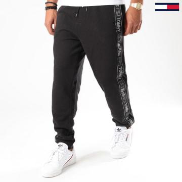 Tommy Jeans - Pantalon Jogging A Bandes Tape 8676 Noir