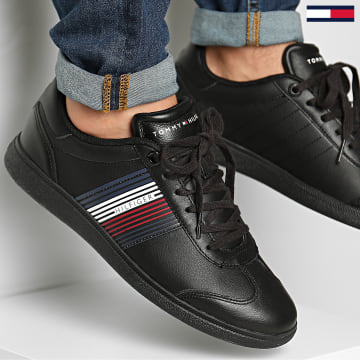 Tommy Hilfiger - Baskets Essential Corporate Cupsole 2842 Black