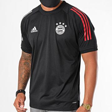 Adidas Performance - Tee Shirt De Sport A Bandes FC Bayern München FR5367 Noir